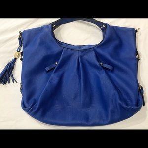 Vince Camuto royal blue over the shoulder purse